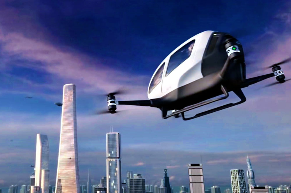 The Worlds First Flying Taxis Will Take to the Skies in Five Months