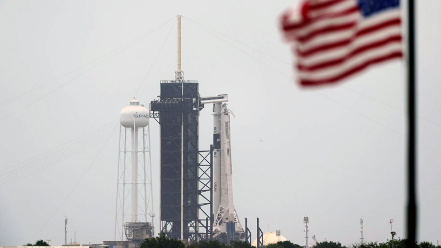 SpaceX Launches Two NASA Astronauts to Space for the First Time in Historic US Mission