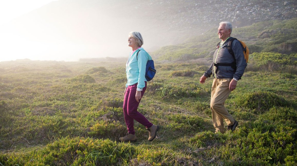 The Key to Staying Active and Healthy Past 60