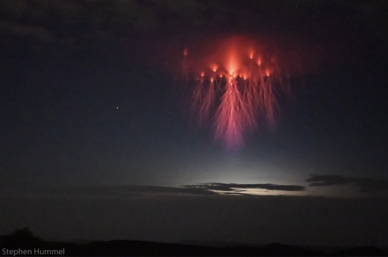 What are Lightning Sprites?